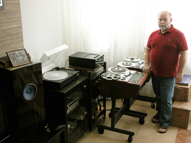 MY SYSTEM with 2 Studer A-807