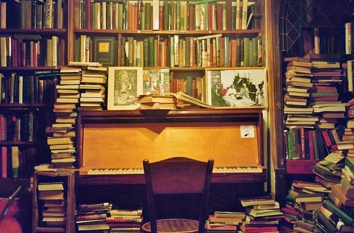 book & music