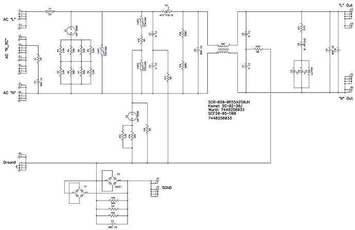 2_Main EMI-filter_Общая схема связей