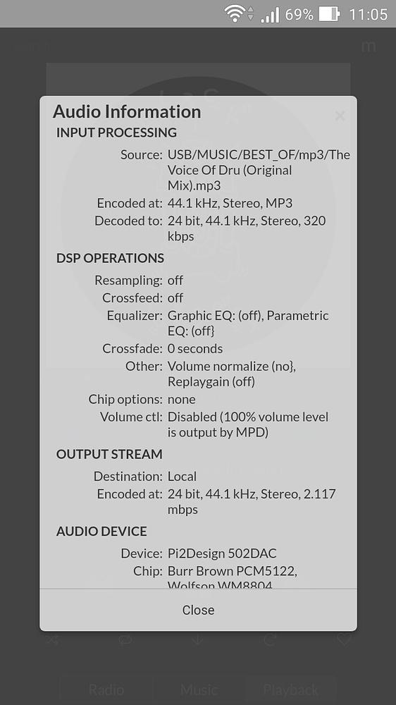 🏷 Volumio, Moode, RuneAudio, DietPi, PiCorePlayer, OSMC