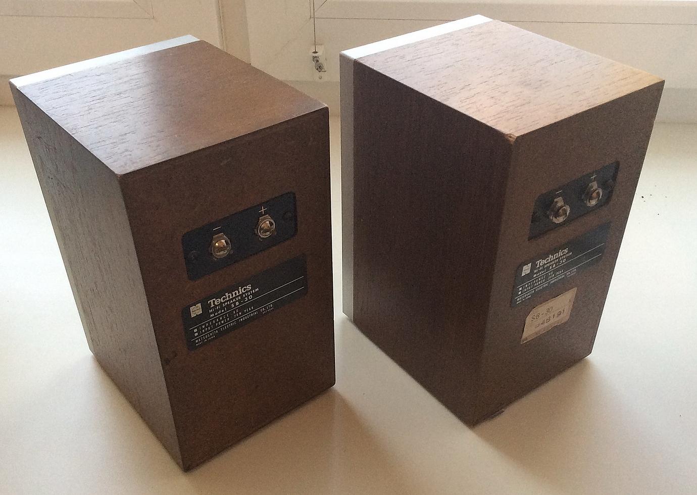 Technics SB 30 миниатюрные полочники - Акустика - DA Stereo