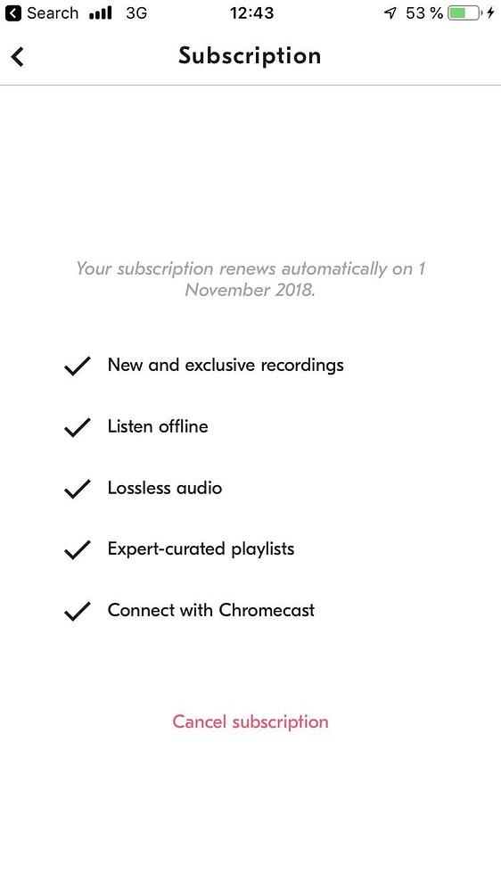 Музыкальные сервисы: Spotify, Apple Music, Tidal Hi-Fi